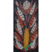 Oiseaux becquetant du maïs
