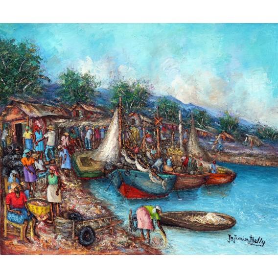 Le marché du bord de mer