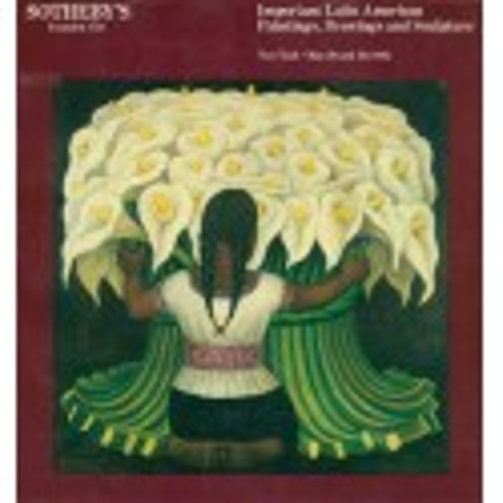 Important Latin American Art Paintings, Drawings & Sculpture