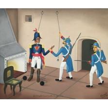 Après L'interrogatoire Toussaint Louverture Fut jeté en Prison